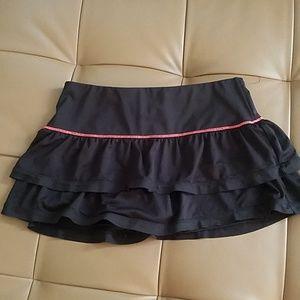 Lucky in love tennis skirt
